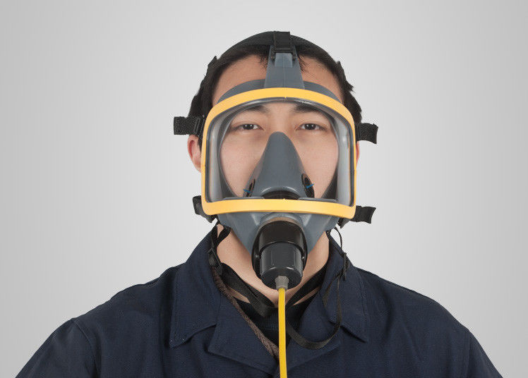 Silica Gel Chemical Respirator Mask With Air Supplying Customized Design